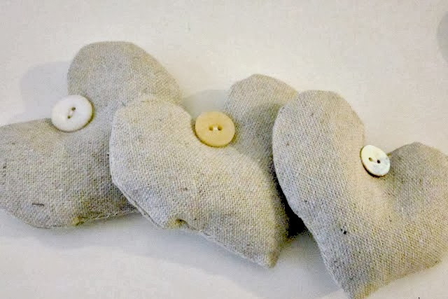 How to Make Easy Lavender Heart Sachets