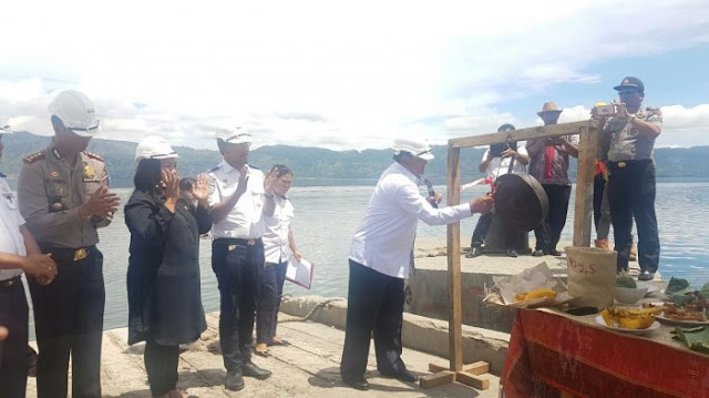 Presiden Jokowi Dukung Pembangunan Pelabuhan Feri Berkelas Internasional di Danau Toba Samosir