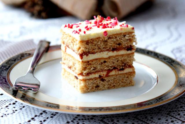 piernik czeski, masa grysikowa,masa z kaszy manny,piernik,ciasto ,szybkie ciasto,