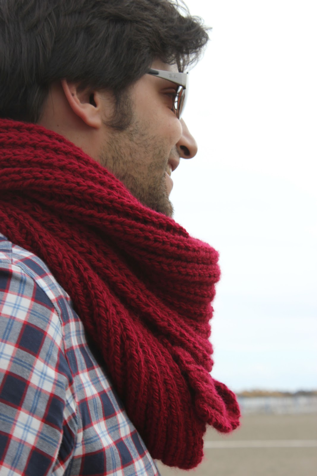 seleccione para genuino moderno y elegante en moda colección de descuento DIY Cómo hacer una bufanda para hombre | | Oh, Mother Mine DIY!!
