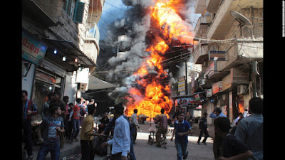 Car bombs in Syria kill nearly 50