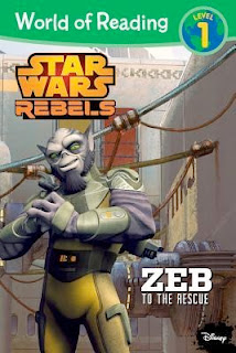 bookcover from Star Wars Rebels: ZEB TO THE RESCUE  [Walt Disney Press/Hyperion]