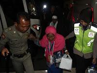 Bupati Bersama Kakankemenag Sambut Kedatangan Jamaah Haji Nganjuk