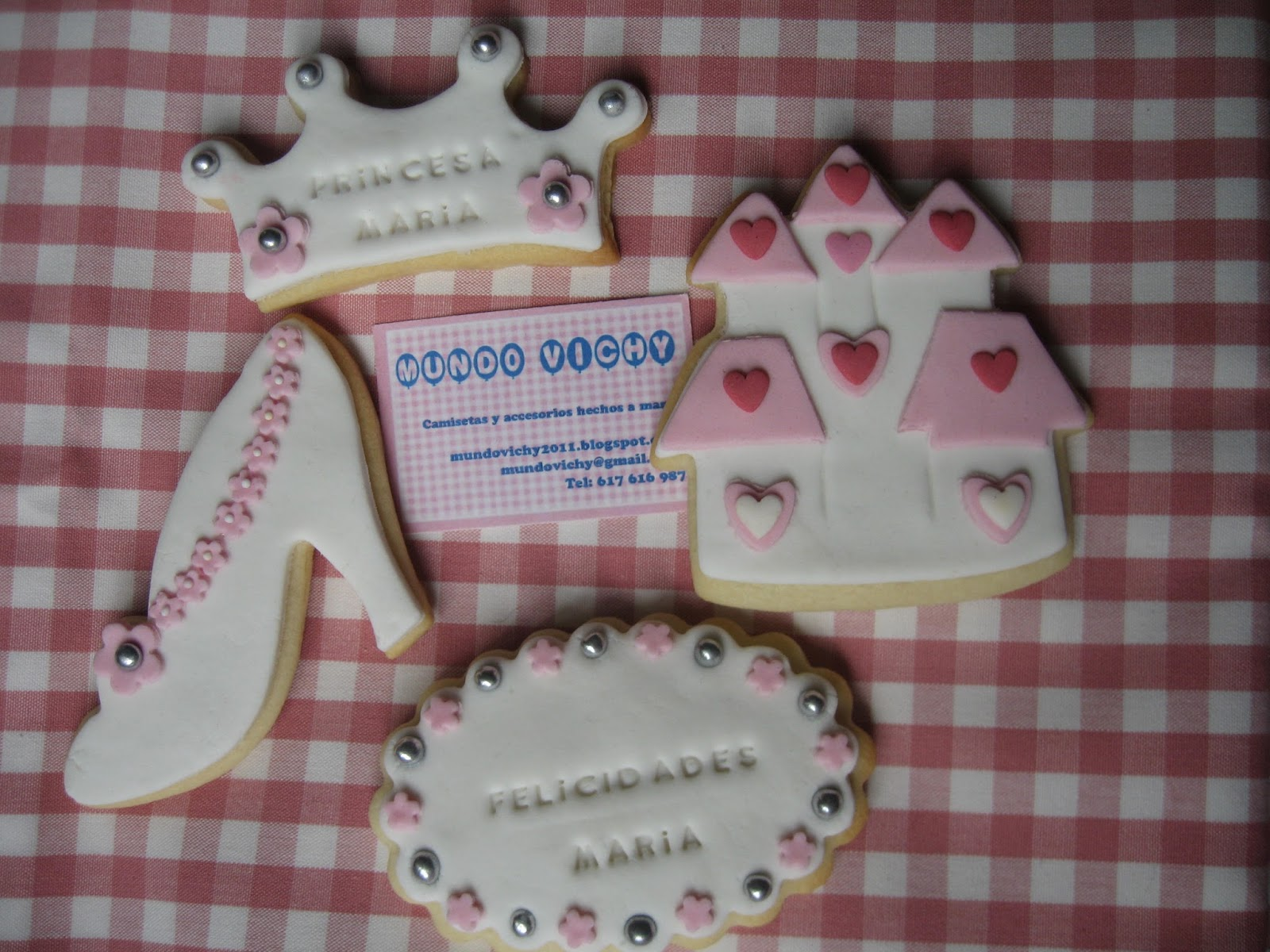Galletas Decoradas De Princesas Mundo Vichy Galletas Decoradas Personalizadas Para Una