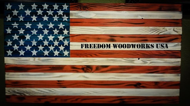 Purchase American Flag Inspired Customized Rifle and Handgun Wall Vaults