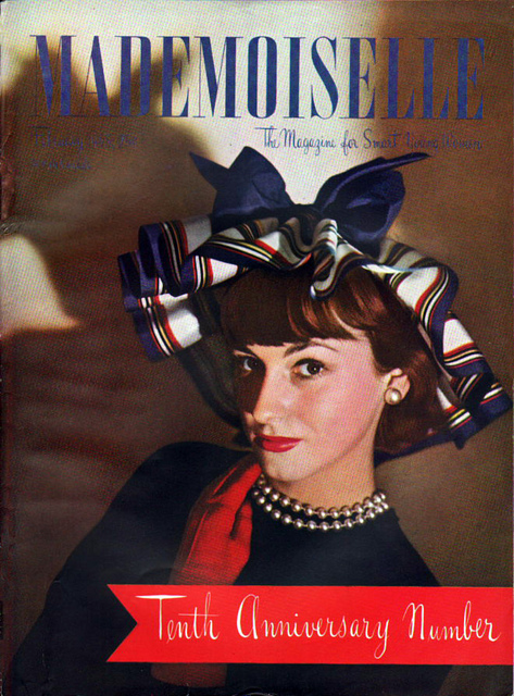 Fashion Magazine Covers From 1940s 1950s Vintage Everyday