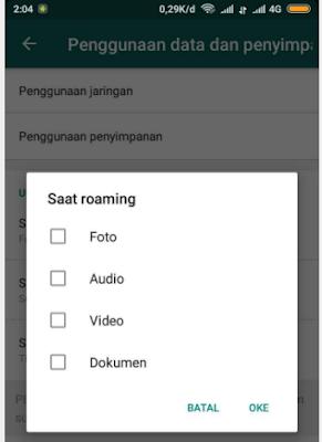 Mengatasi Gambar Video Fotot Whatsapp Otomatis Download