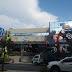 """Έκρηξη στο Κερατσίνι: Ανατίναξαν το ΑΤΜ στο σούπερ μάρκετ """"ΑΒ Βασιλόπουλος"""" (FOTO REPORTAZ NET)"""