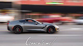 Chevrolet C7 Corvette Dark gray