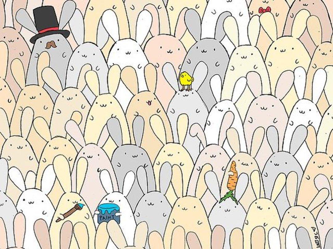 найди зайца на картинке с котами ответ несите