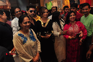 Bollywood Actress Sana Khan Launches Aakrithi Exibition  0304.JPG