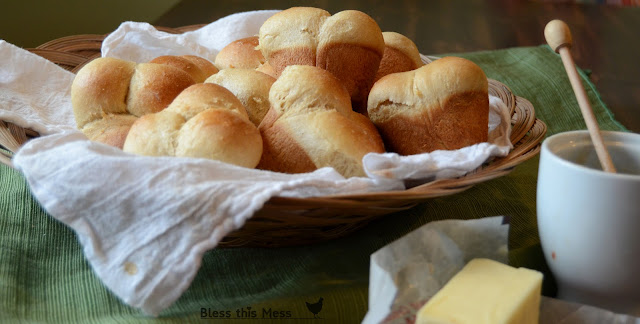 Whole Wheat Clover Rolls