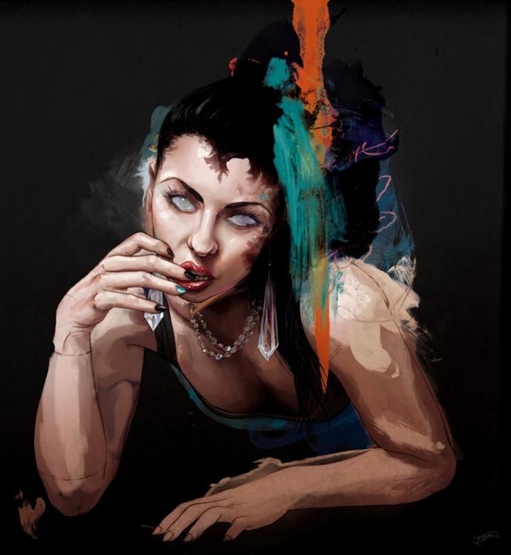 Современный художник. Tyson McAdoo 3
