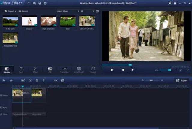 برنامج تركيب الصور على الفيديو والاغاني لعمل المونتاج برابط مباشر
