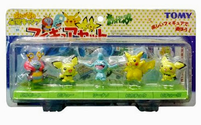 Wynaut in Tomy Pokemon figure Camp Pikachu Set