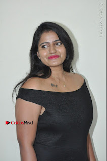 Telugu Actress Swathi Reddy Latest Stills in Black Gown  0014.JPG