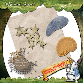 On the mend and more Mermaid Journal freebie