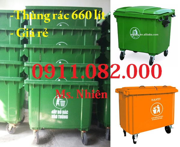 Thùng rác giá rẻ, thùng rác y tế, thùng rác 120L 240L giá sỉ lẻ- 0911082000 - 224896