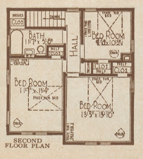 sears americus second floor layout