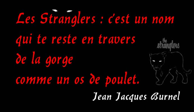 Jean Jacques Burnel - The Stranglers