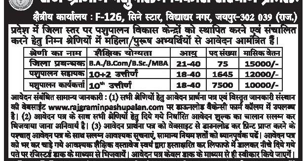 bpl-N582888-large  Th P Govt Job Online Form In Rajasthan on