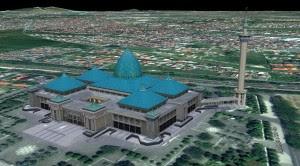 Wisata Religi di Masjid Nasional Al-Akbar Surabaya