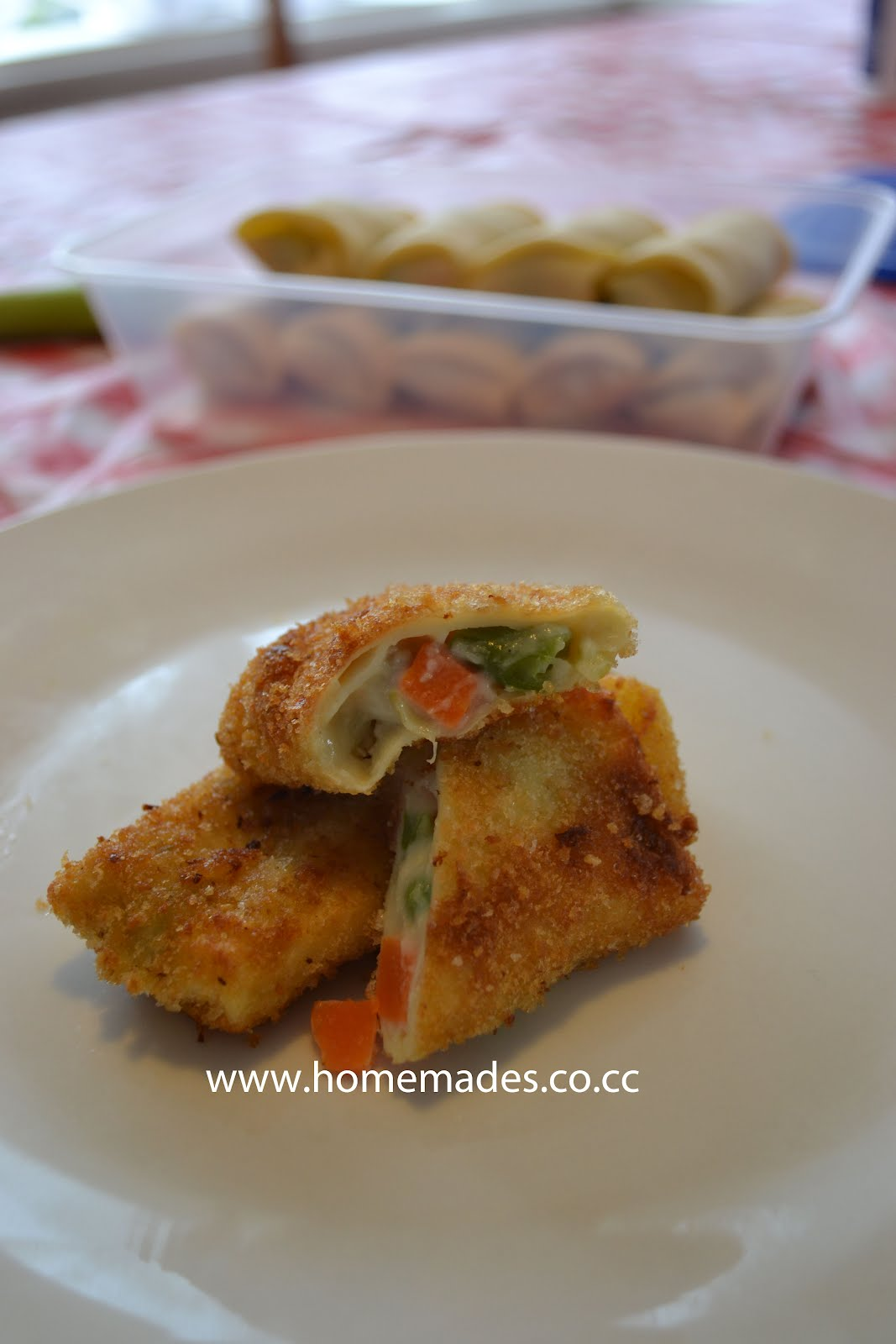 simply homemades risoles with ragout filling