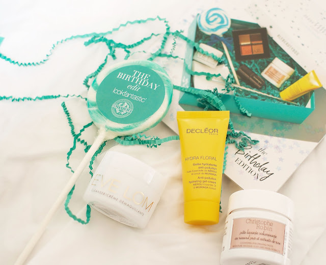 Look Fantastic, Beauty box, lollipop, hair care, Christophe Robin, Decléor, Eve Lom, Skin care