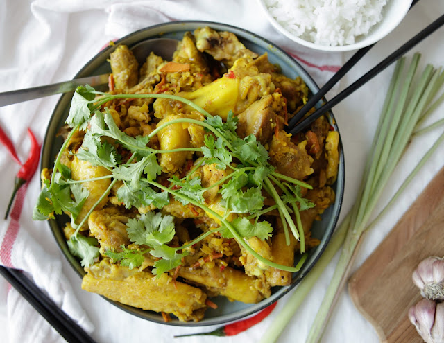 Lemongrass, Chilli & Turmeric Chicken