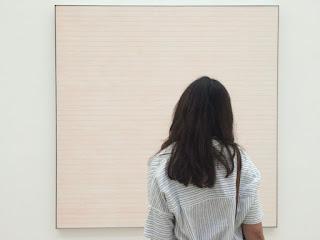 Maurene at art museum