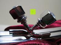 Verschluss: Sumolux Elegante Handtasche Tasche Partytasche Abendtasche Tasche für Frauen Tasche für Damen Weinrot