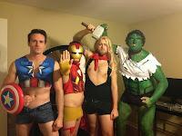 Disfraces afeminados de superheroes