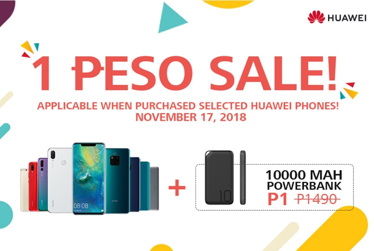 Huawei to Open New Concept Store, Announces 1 Peso Super Deal!