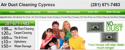 Air Duct Cleaning in Cypress