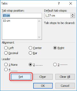 Cara Membuat Titik Daftar Isi Otomatis