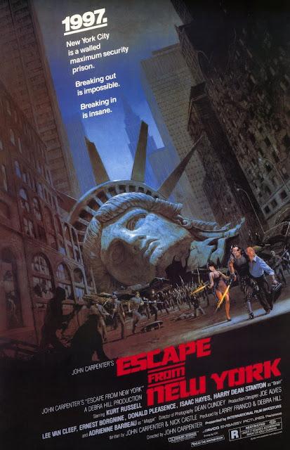 Poster 1997 Rescate en Nueva York