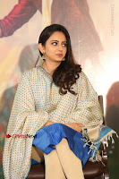 Actress Rakul Preet Singh Stills in Blue Salwar Kameez at Rarandi Veduka Chudam Press Meet  0044.JPG