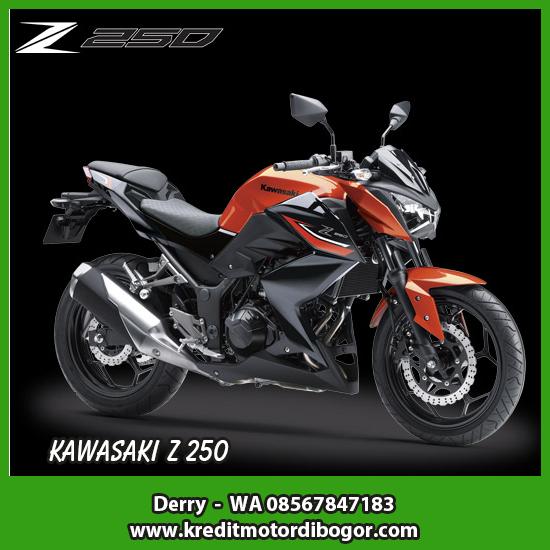 Kredit Motor Kawasaki Z 250 di Bogor