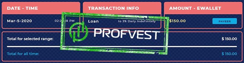 Депозит в LoanTech