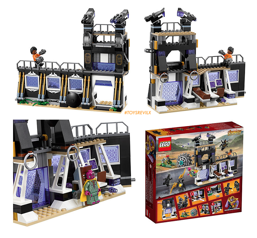 6 Lego Avengers Malvorlagen: These LEGO Playsets For AVENGERS: INFINITY WAR Might Or
