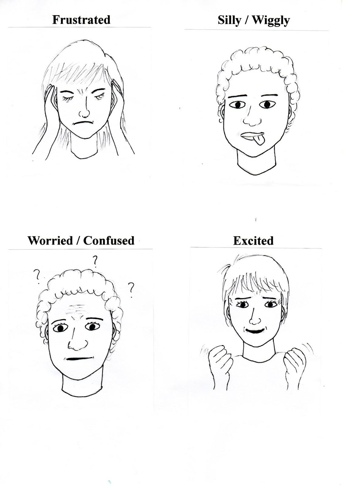 Renewing Reason: Zones of Regulation Emotions Cards