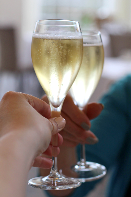 Mother's Day Champagne at Rushton Hall, Northamptonshire - UK luxury travel blog
