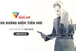 Hướng dẫn kiếm tiền trên Civi bằng cách chèn quảng cáo vào blogspot