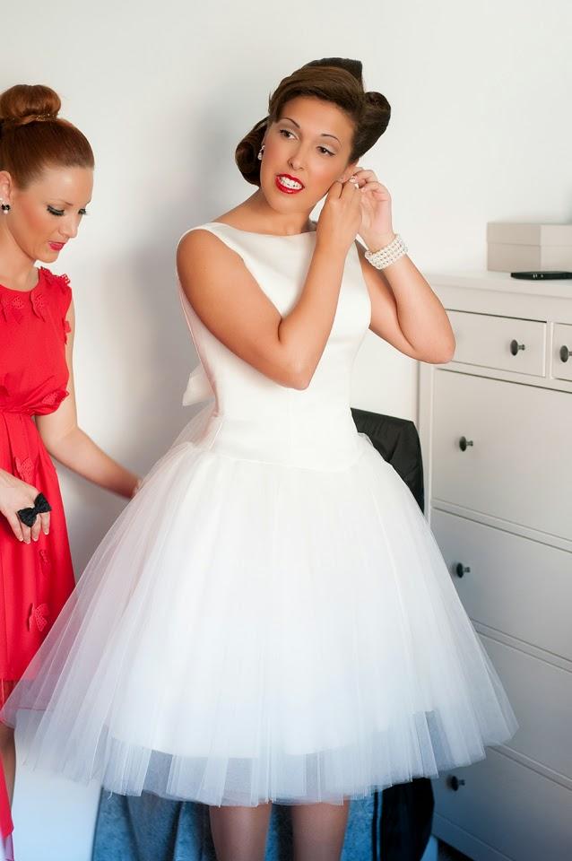 vestidos de novia cortos pin up – vestidos de boda