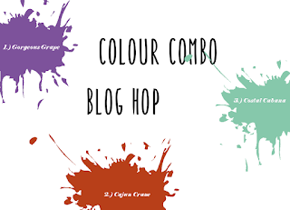 Color Combo Blog Hop January 2019