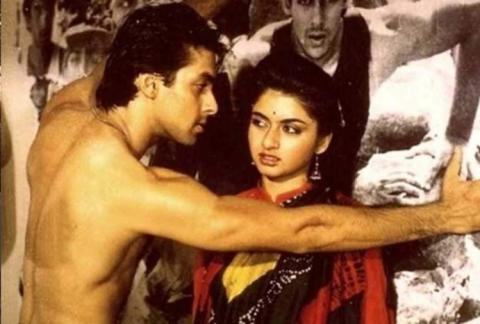salman khan and bhagyasree