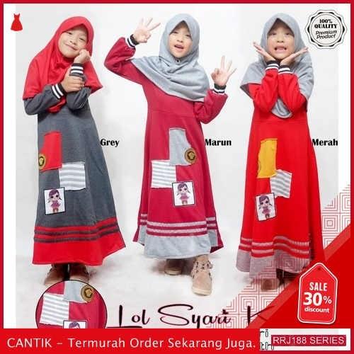 Jual RRJ188P190 Pakaian Anak Perempuan Wanita Lol Syari Lh BMGShop