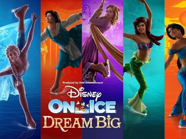 Disney On Ice - Dream Big Coming To UK This Autumn