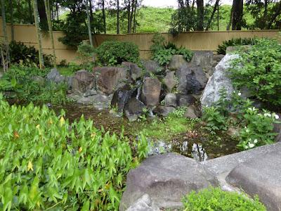 城北菖蒲園 滝