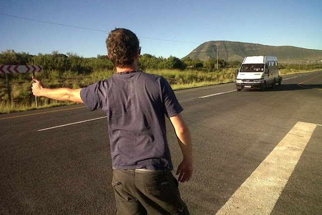 Hitch-Hiking India